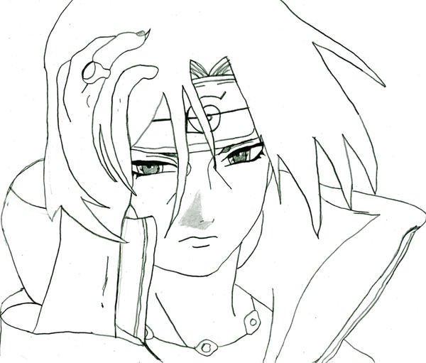Orochimaru Coloring Pages Sketch Templates besides Itachi Uchiha Susanoo Coloring Pages Sketch Templates also Naruto Uzumaki Coloring Pages together with 560 furthermore Naruto Sasuke Chidori. on neji coloring pages