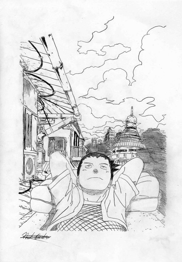 Shikamaru by Kiranaomipartners