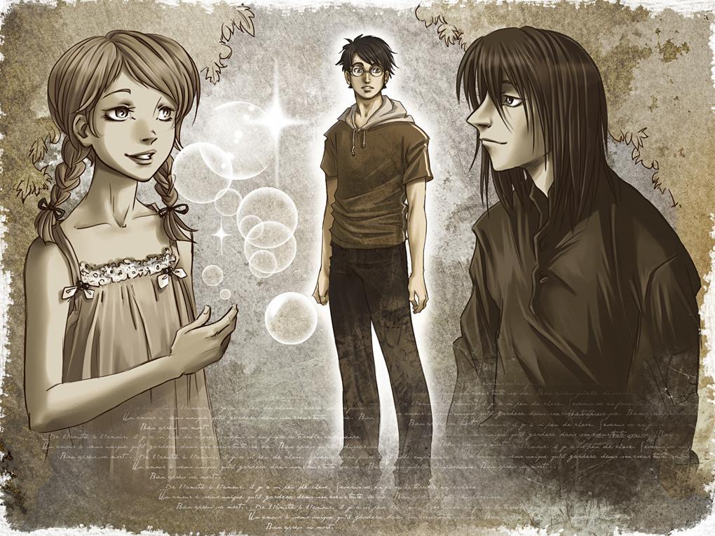 Severus et Lily by HitoFanart