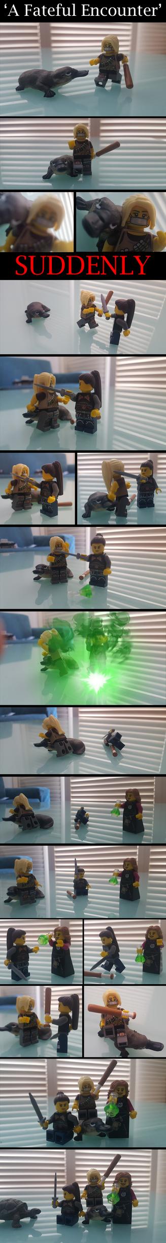 A Fateful Encounter by SuperferretIX