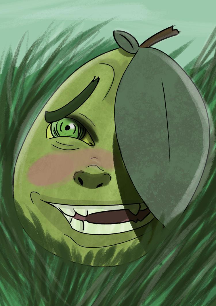 Manga Pear by Raptorspok