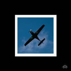 Overhead plane by photoman356