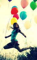 Jump Balloons by xfallxoutxgirlsx