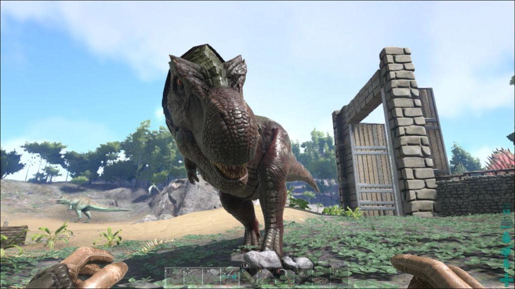 5086c79347 ARK: Survival Evolved dinosaurs: Tyrannosaurus Rex by knuxpwnsstuff ...