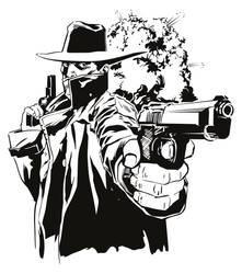 Shooting Man by foffern