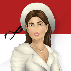 Charlotte Casiraghi of Monaco by foffern