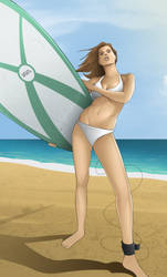 Surferchick#1 by foffern
