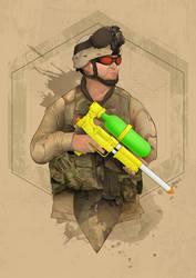 Super Soldier by foffern