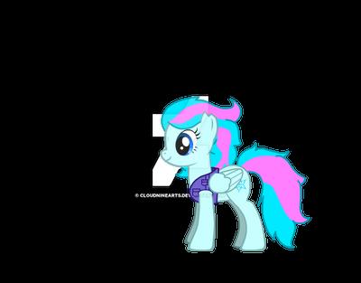 My Pony OC by CloudNineArts