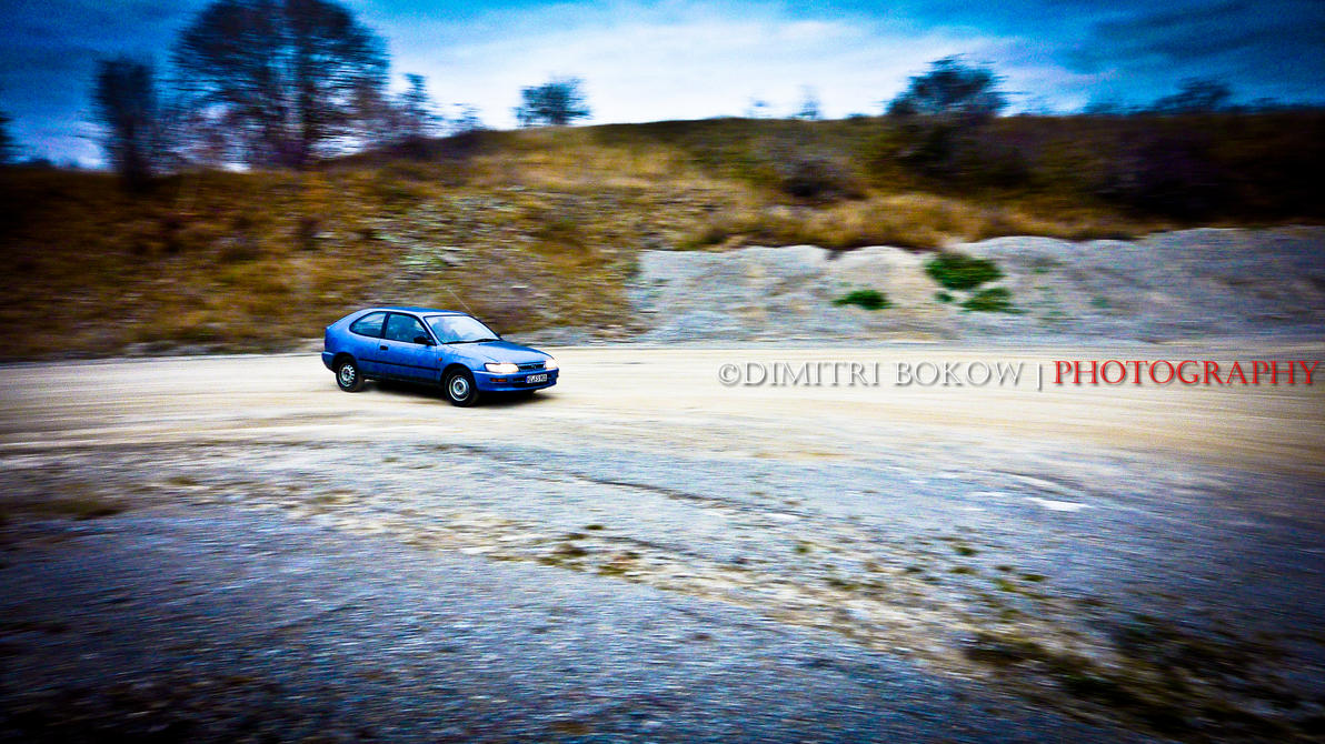 Toyota Corolla the king of mud by DimitriBokowPhoto