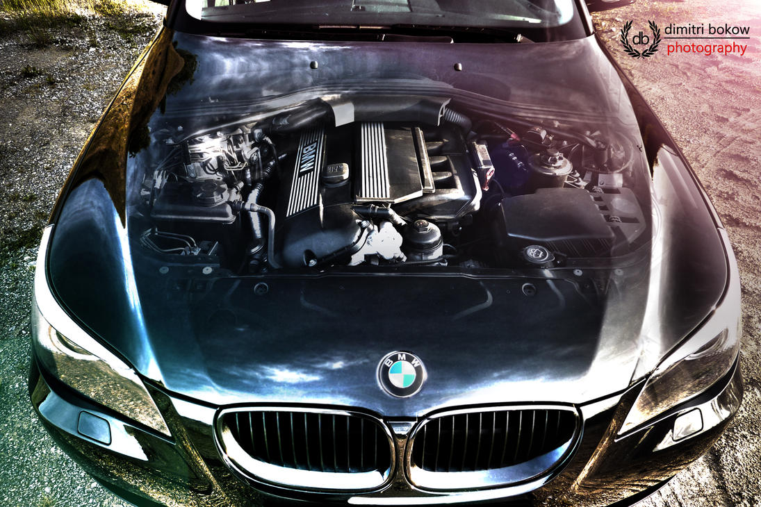 BMW e60 Engine by DimitriBokowPhoto