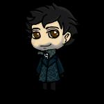 -Movie- Sherlock Shimeji WIP by Foxiez