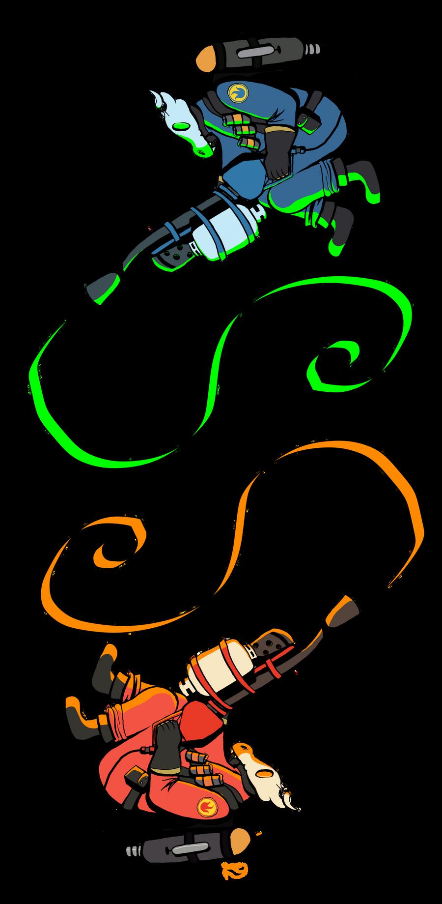 Pyromancers (10/05/12) by Foxiez