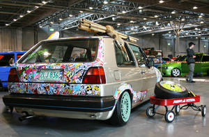 VW Golf mk2 by xXJohnnnYXx