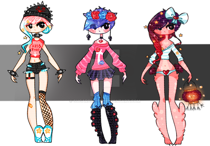 [1-3] Adopts ((OPEN)) by SugarBooty