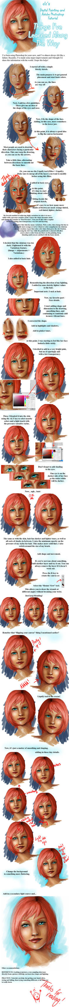 Blue Eyes - Tutorial