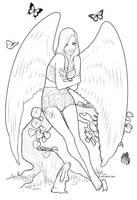 MLP Fluttershy Coloring Sheet