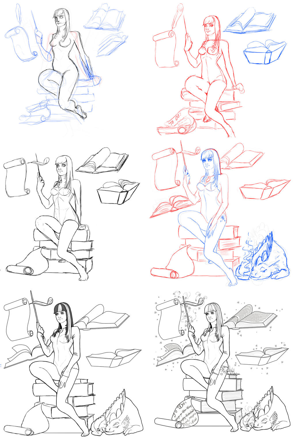 MLP Twilight Sparkle Process by XeiArt
