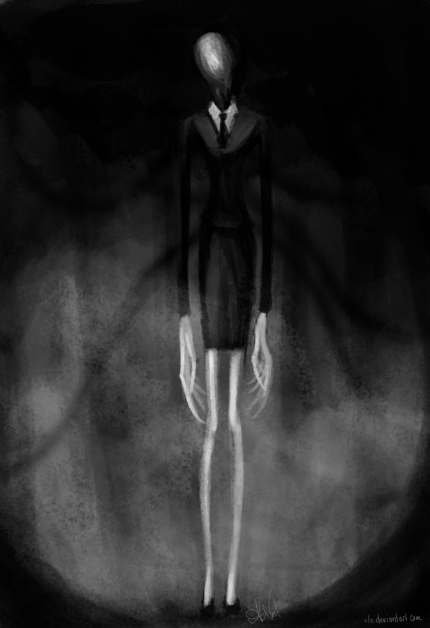 Slender Woman by XeiArt