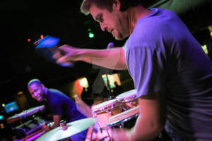 Nate Werth of Snarky Puppy....