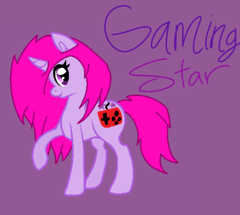 Art Trade with Gaming Star! by Ghoulpony