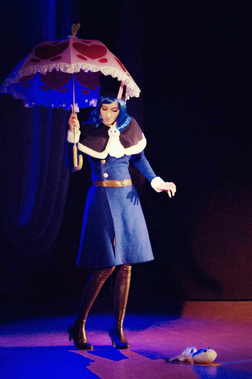 Juvia Loxar cosplay - Fairy Tail by SoranoTenshii on ...