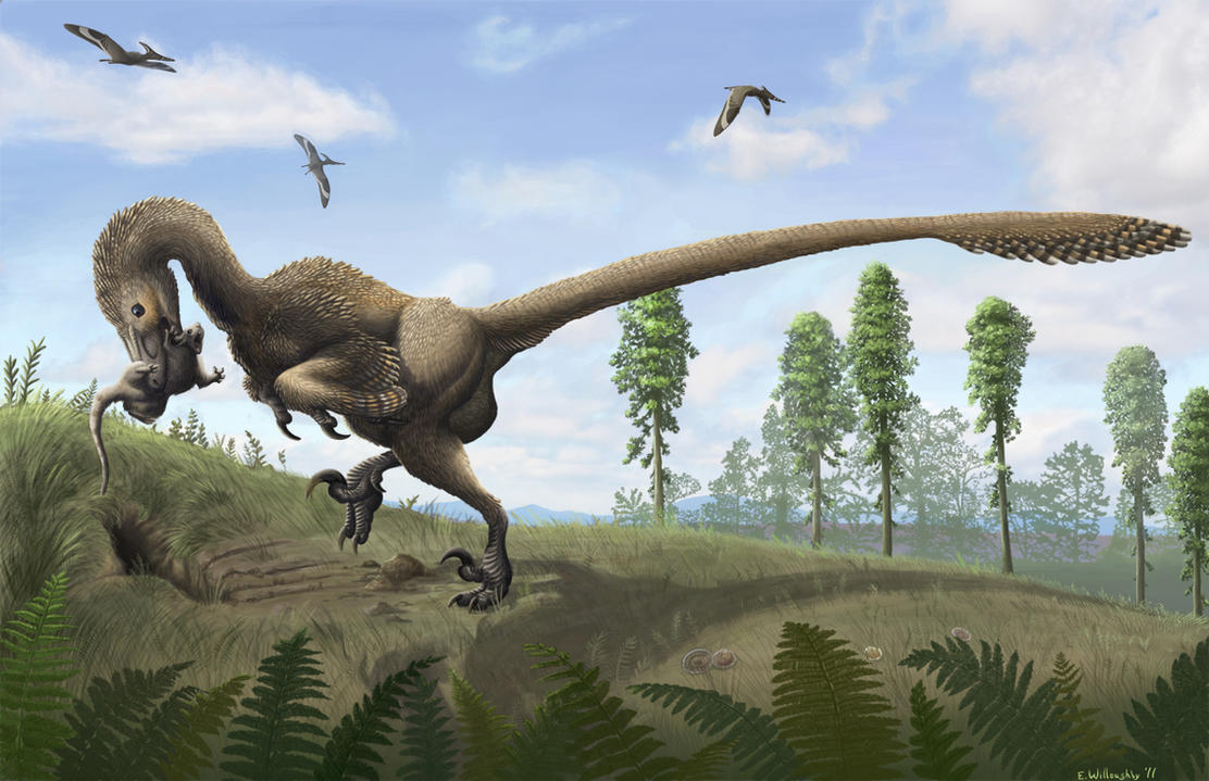 Awesome Paleoart  Saurornitholestes_by_ferahgo_the_assassin-d3rczy1
