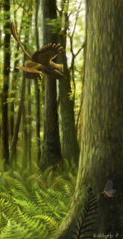 Microraptor: Jehol Juxtaposition