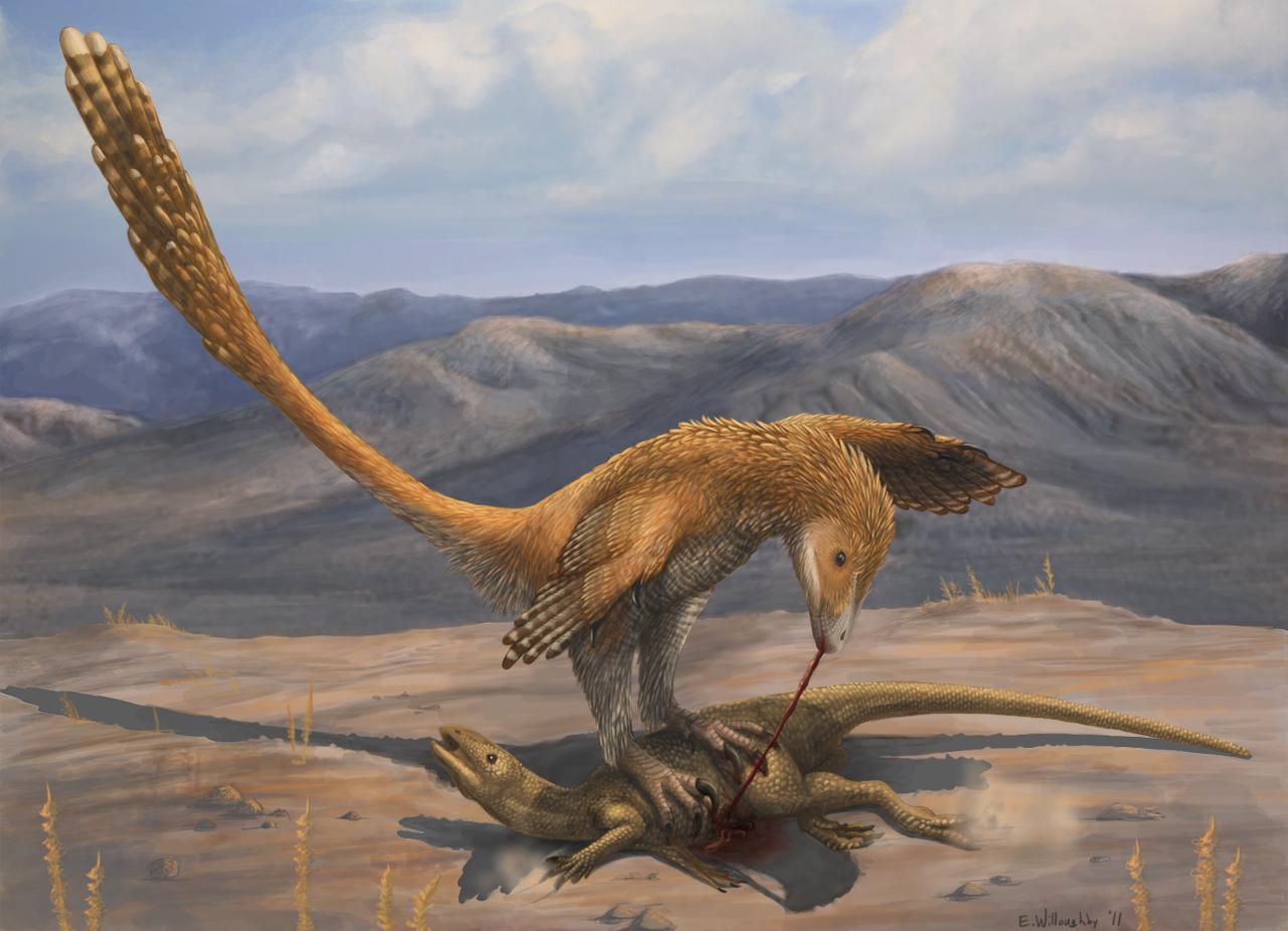 Deinonychus Prey Restraint by EWilloughby
