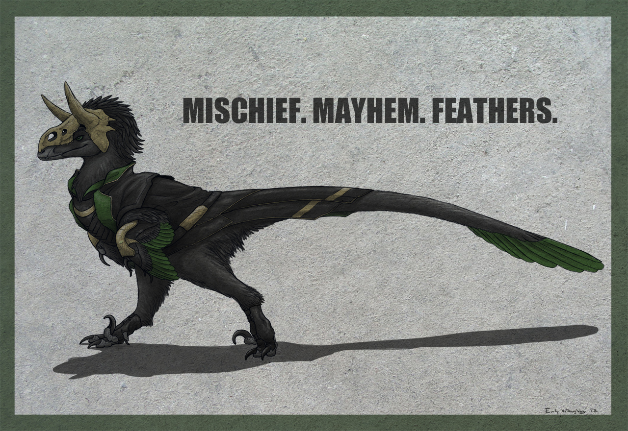 Loki Raptor! by EWilloughby