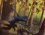 Microraptor Takeoff