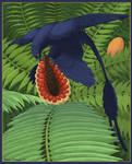 Microraptor Omnivory