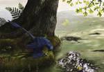Microraptor Piscivory