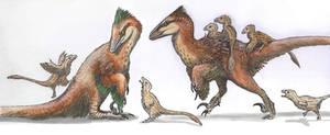 Deinonychus Family