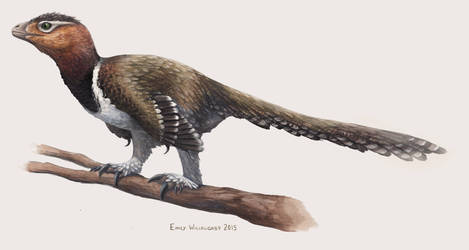 Balaur Perched by EWilloughby