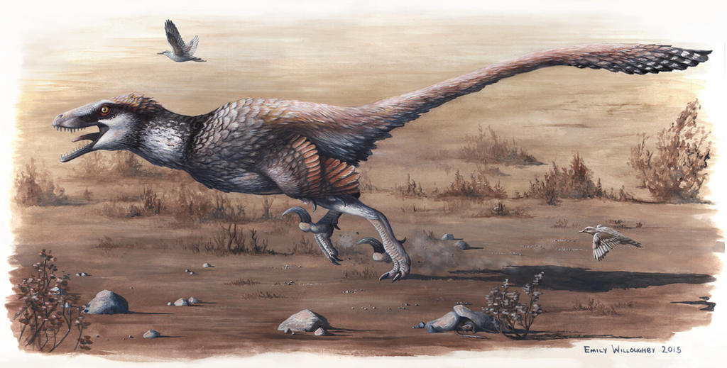 Dakotaraptor steini by EWilloughby
