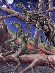 Animorphs: Hork-Bajir Pair by EWilloughby