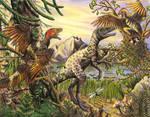 Dilong and Sinornithosaurus