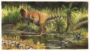 Giganotosaurus Evening