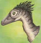 Deinonychus Portrait