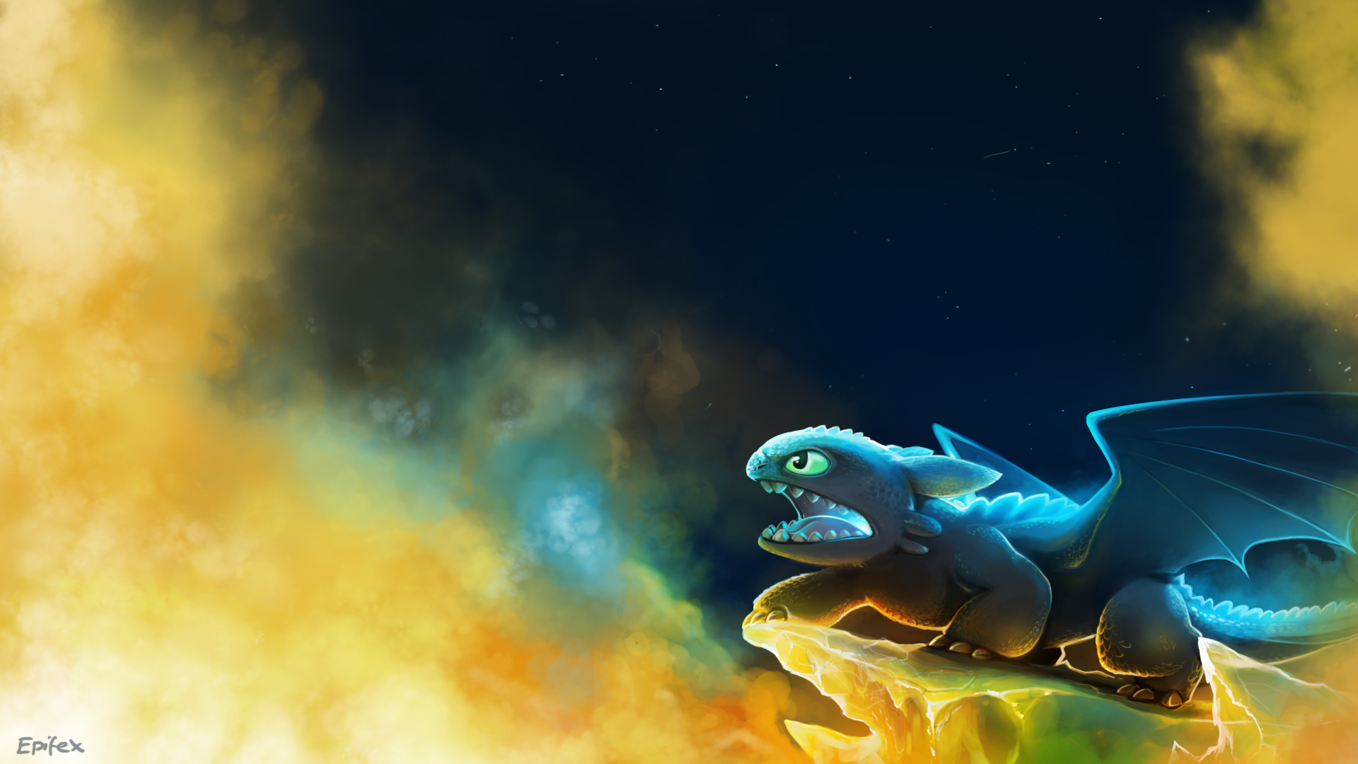 Toothless by epifex on deviantart - Wallpaper picture ...