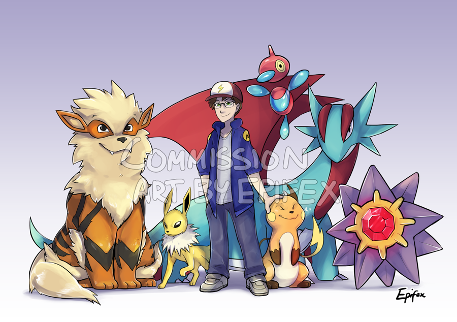 Commission- Full Team by Epifex