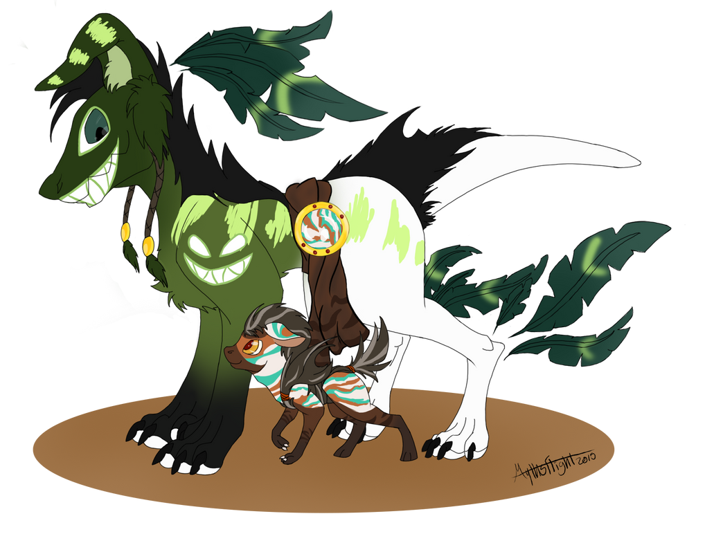 Cryant and Tyla by MythsFlight