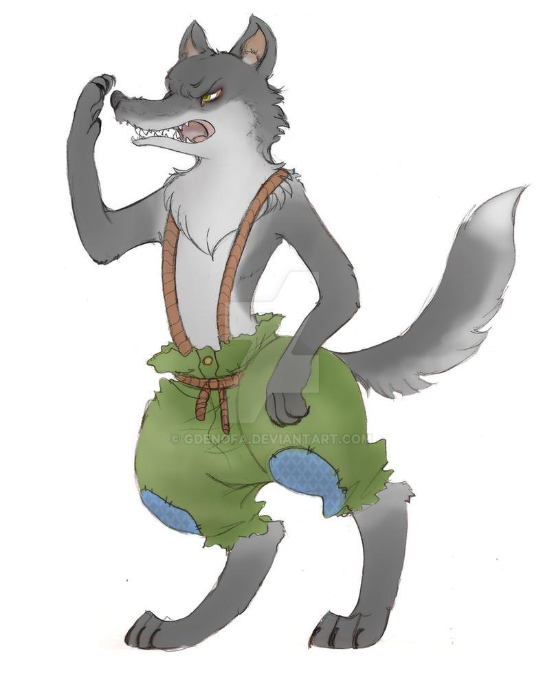The Big Bad Wolf By Gdenofa On Deviantart