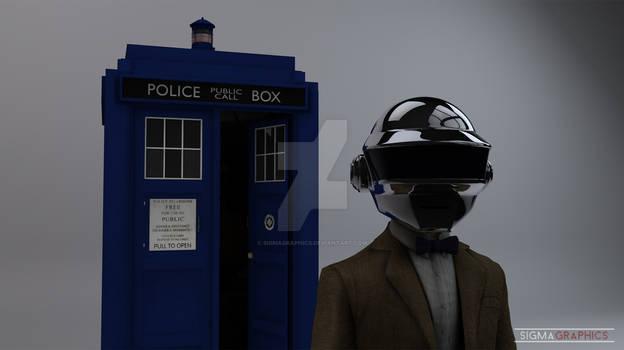Daft Punk and the TARDIS