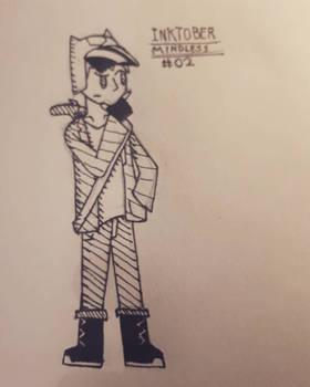 Inktober #02 | Mindless