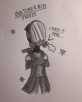 Inktober 04 | Freeze