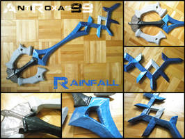 Rainfall Keyblade - DISCOUNT by Anti-Roxas-99