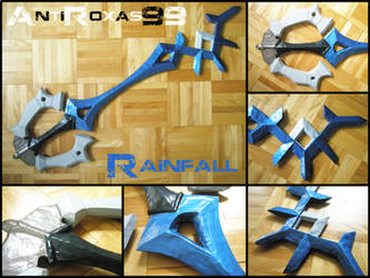 Rainfall Keyblade - DISCOUNT by Anti-Roxas-99