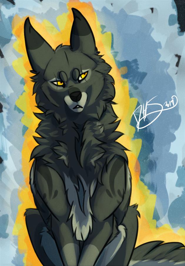 Grumpy Kamoniak by DarkHeartSeer